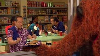 Alan, Snuffy, Sesame Street Episode 4414 The Wild Brunch season 44