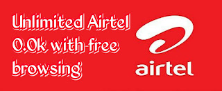 Unlimited Airtel 0.0k free browsing with psiphon