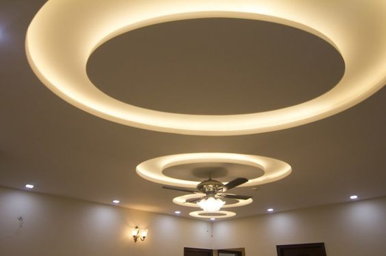 How To Make A False Ceiling Design With Lighting