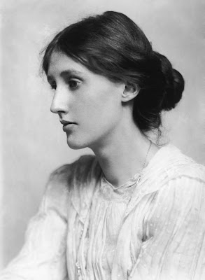George Charles Beresford black and white portrait photograph of Virginia Woolf, 1902