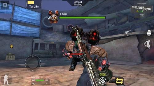 Những đối tượng người sử dụng game thủ khác nhau vẫn sẽ phiêu lưu được cho mình cách thức đấu cân xứng trong vòng Crossfire