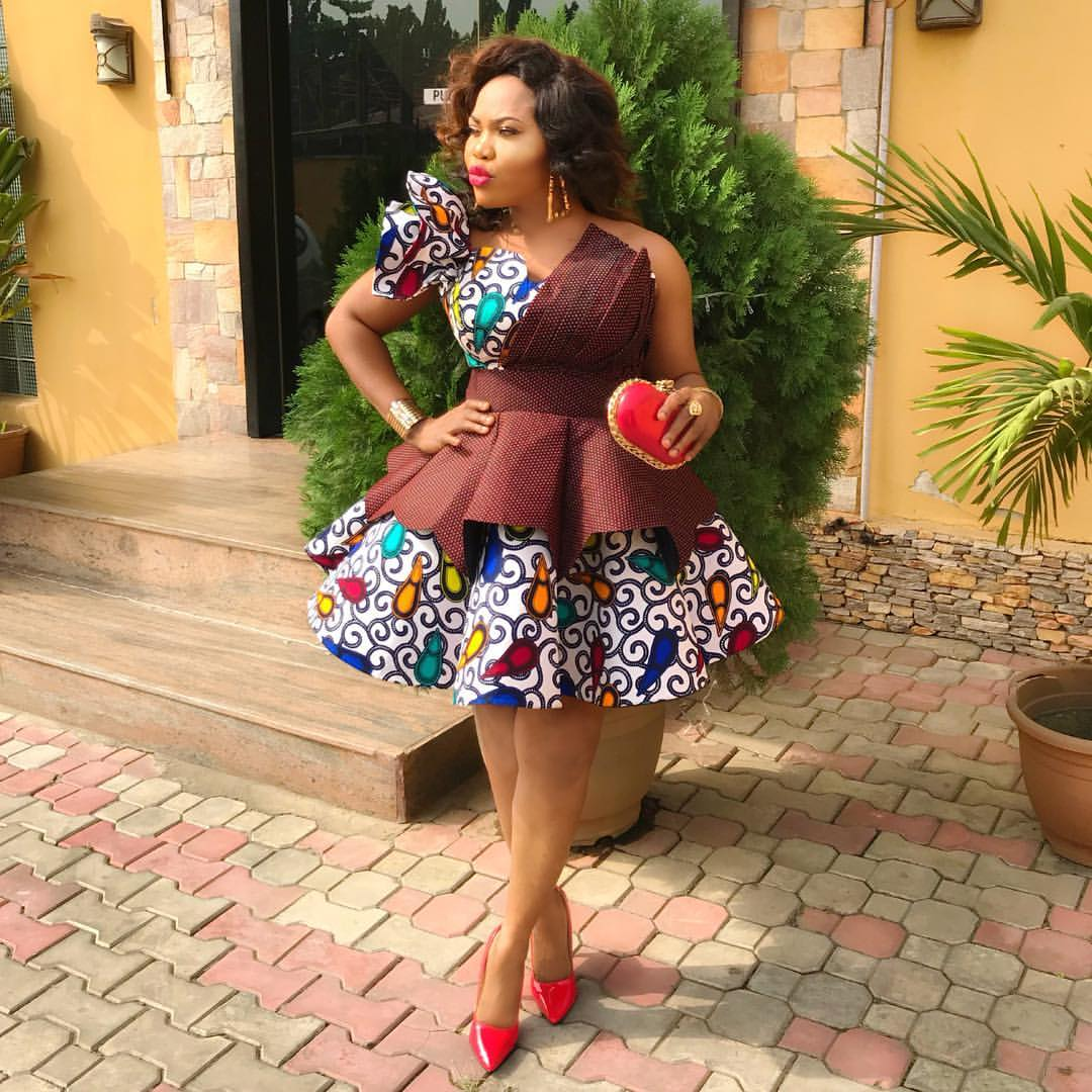 Latest Ankara Aso Ebi Styles 2019 For Modern Ladies