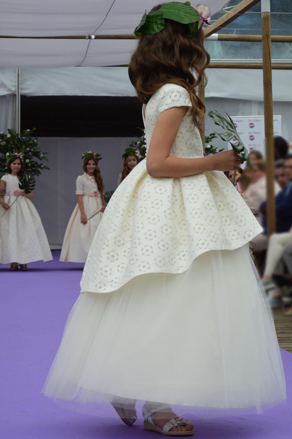 Vestidos para primera comunion desmontables