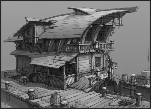 Ethan Clements Major Project Pirate Town Idea