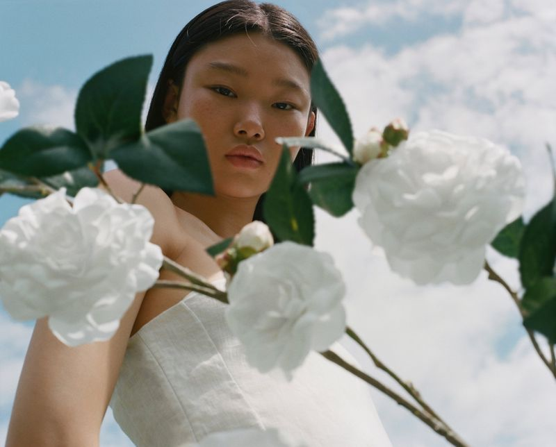 Yoon Young Bae stars in Chanel Hydra Beauty 2020 campaign.