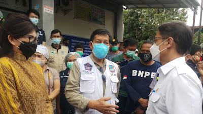 GSVL, Apresiasi Kedatangan Menkes Dan Felly Runtuwene Pantau Vaksin Massal diManado