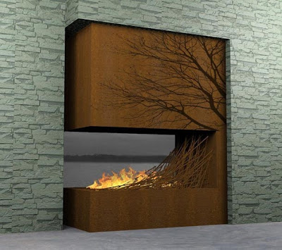 Unique Wall Fireplacejpg