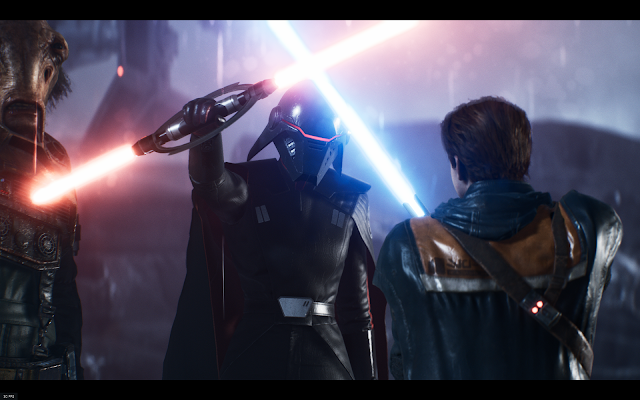 Star Wars Jedi: Fallen Order™ Cal Kestis meets the second sister