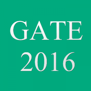 GATE 2016 Result Check Here