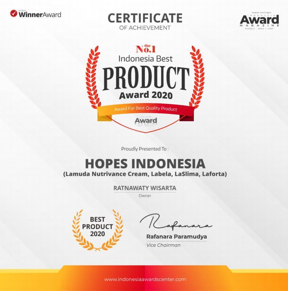 award hope Indonesia