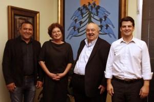 Prefeito de Curitiba Greca declara apoio a Sérgio Pinheiro em Colombo para prefeito