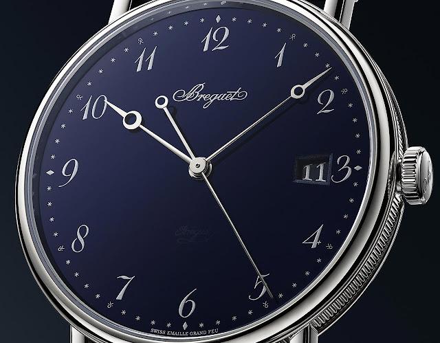 Breguet Classique 5177 Grand Feu Blue Enamel ref. 5177BB/2Y/9V6