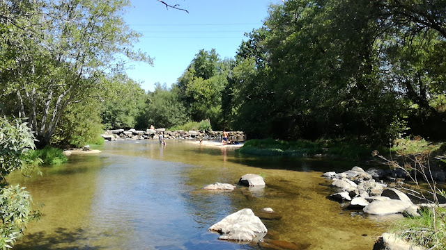 águas límpidas do Rio Homem