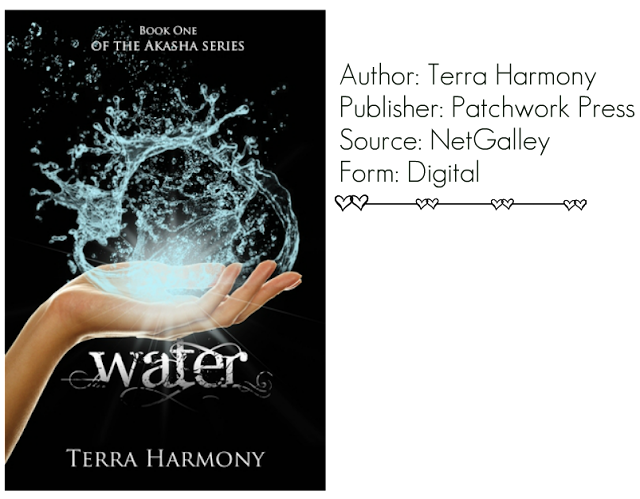 "Review: ""Water (Akasha #1)"" by Terra Harmony"