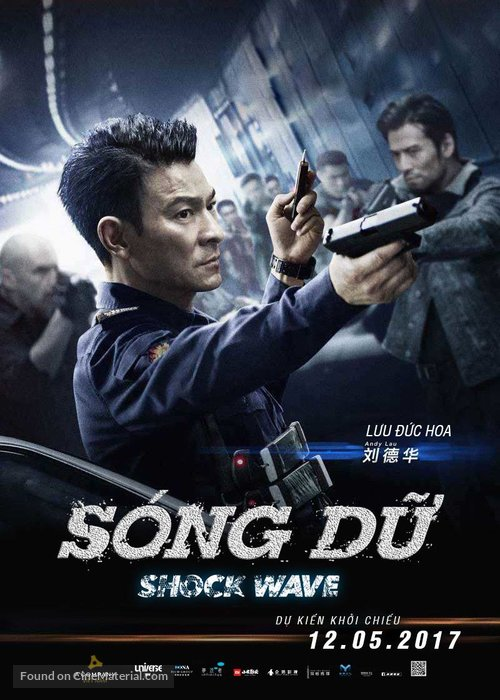 Shock Wave 2017 Chinese-Hindi Dual Audio 480p BluRay 400MB With ESub