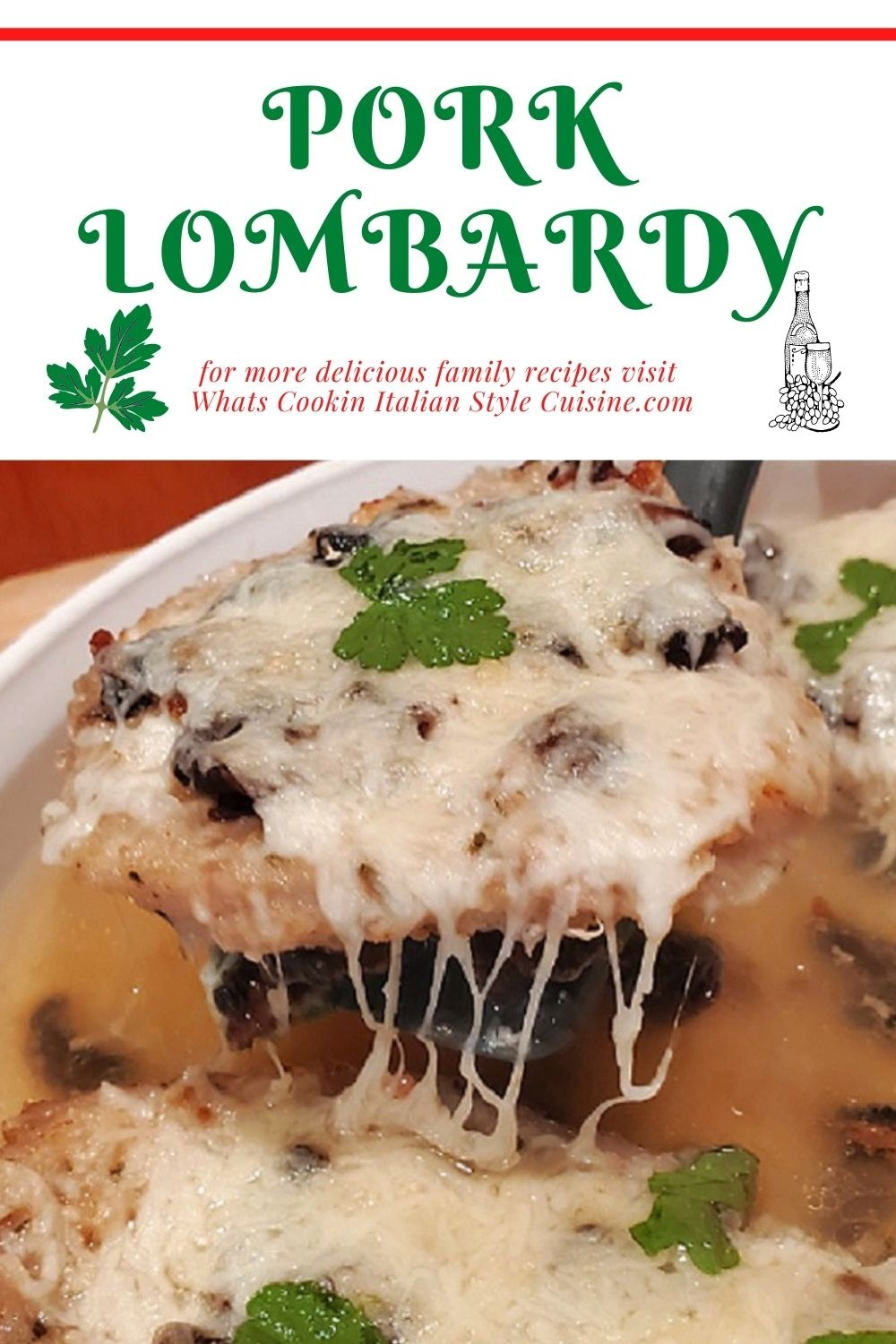 this is a pin for later how to make pork lombardy recipe