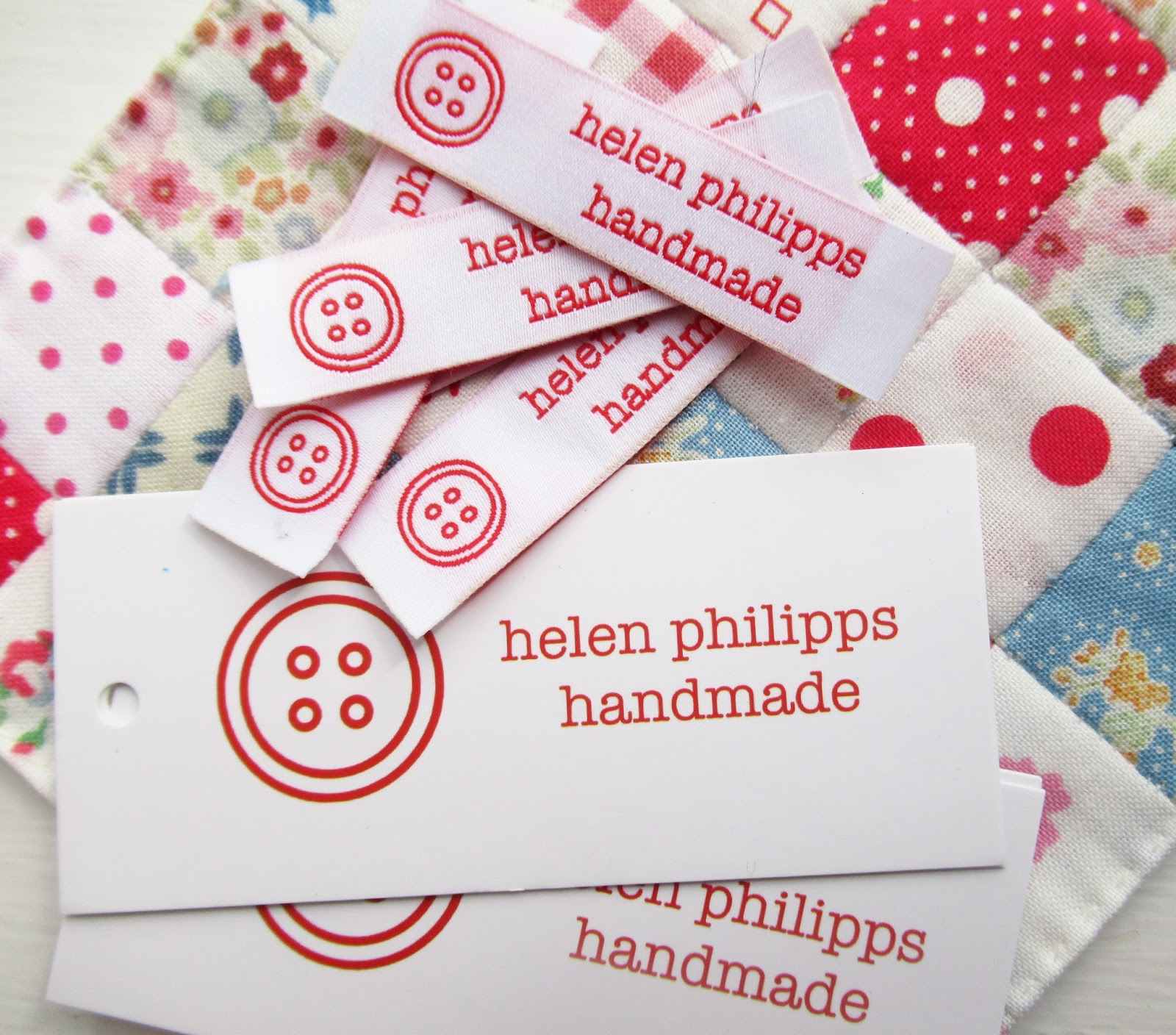 Helen Philipps: Lovely Labels and Easter Eggs