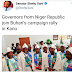Governors From Niger Republic Seen Campaigning with Buhari Pics
