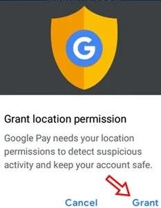 click gran permission