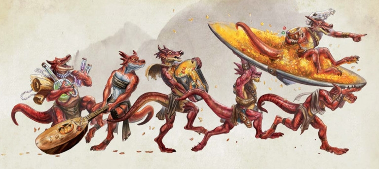 Reseña D&D - Volo's Guide to Monsters - Kobolds