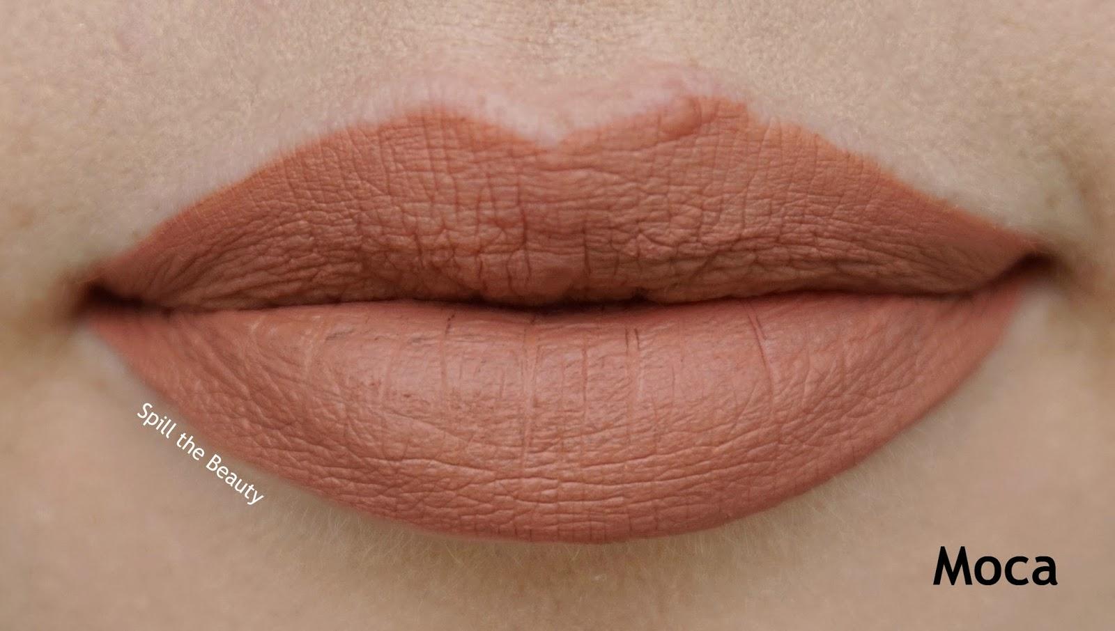 rimmel london stay matte liquid lip color review swatches 720 moca