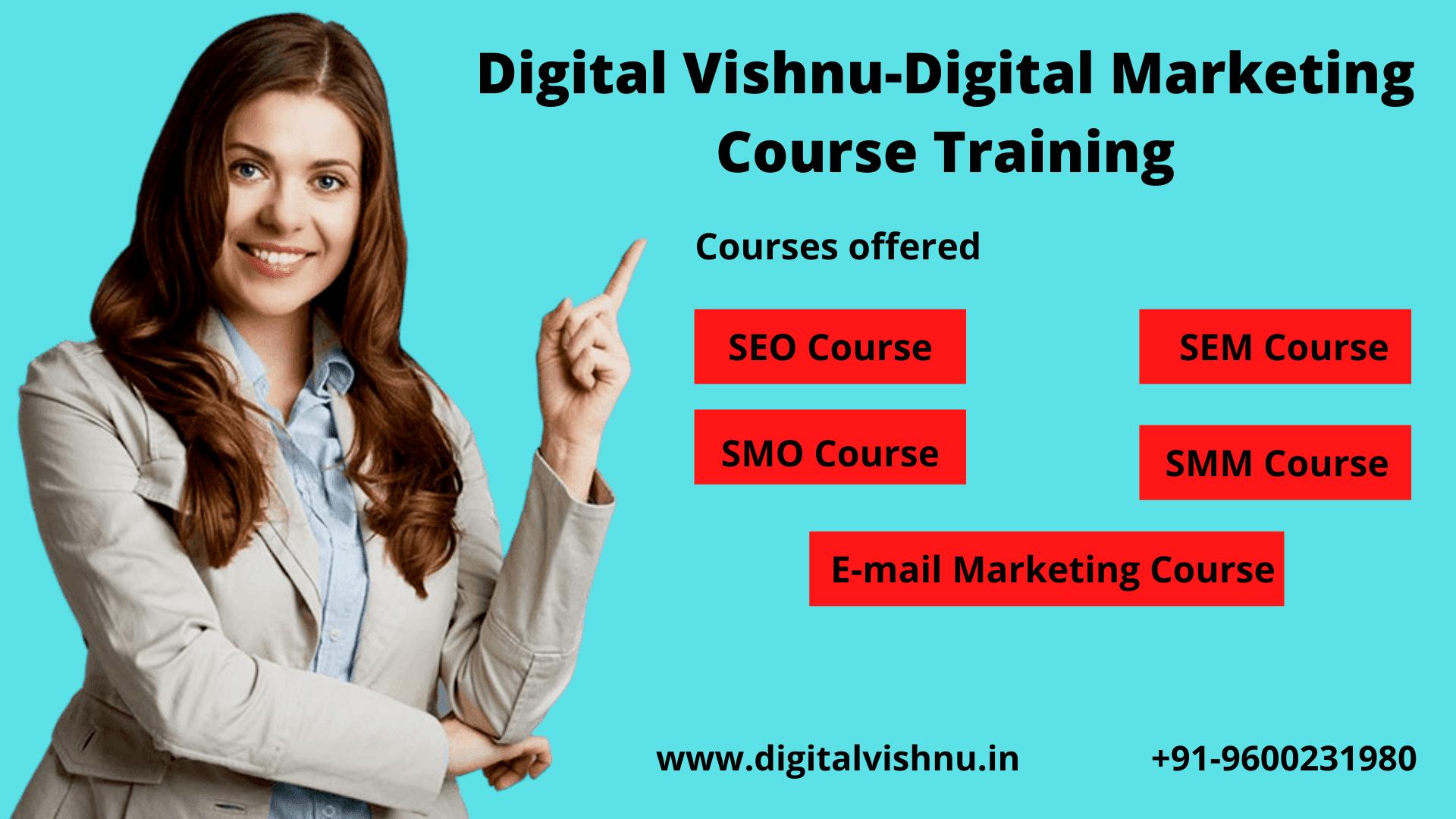 Digital Vishnu - Digital Marketing Course