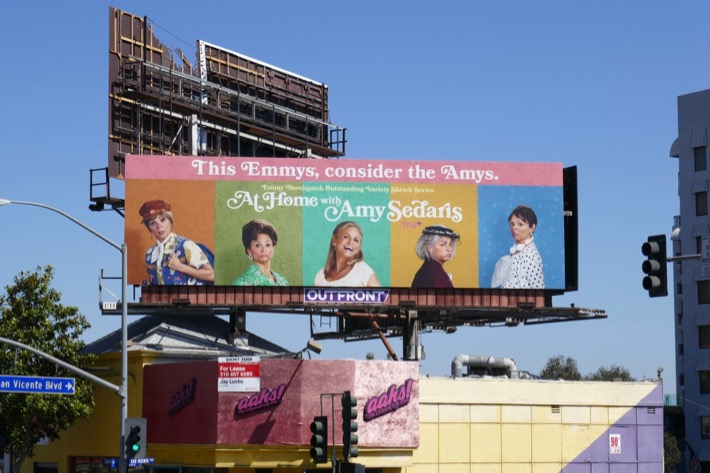 This Emmys consider The Amys At Home Amy Sedaris billboard
