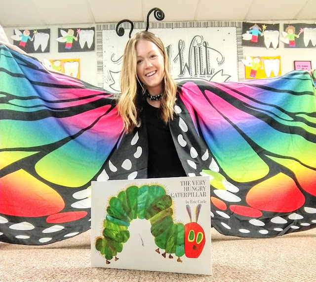 The Kinderhearted Teacher caterpillar day
