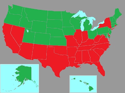 BLUEFIELDSTARS: Union vs Right to Work, You Decide on union confederate map state names, union membership by state, united states map, right to work state and map,