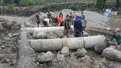 Hubungkan Dusun Pabbaresseng Atakkae, Satgas TMMD Pasang Gorong-gorong
