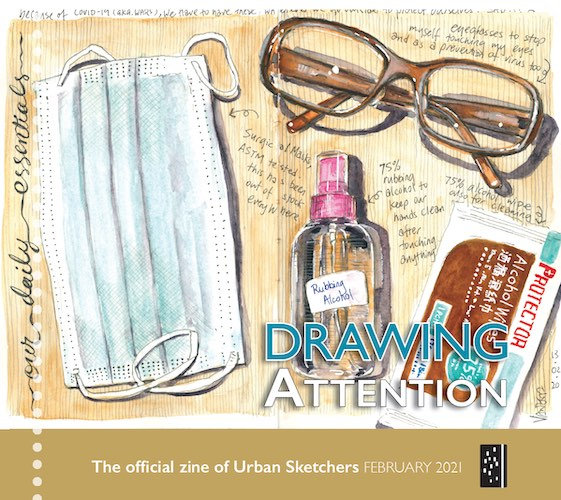 Drawing Attention - February 2021 thumbnail