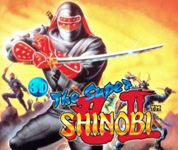 Rom 3D Shinobi III Return of the Ninja Master 3DS