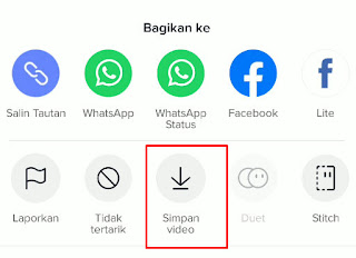 Download Video Tiktok Tanpa Aplikasi Tambahan