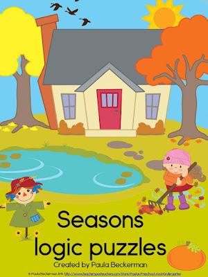https://www.teacherspayteachers.com/Product/Seasons-Logic-Puzzles-2028327