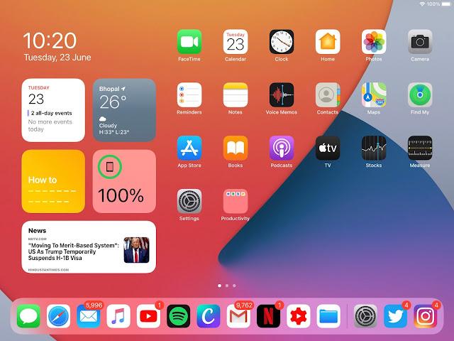 تحديث ipadOS 14 ، تحميل الإصدار التجريبي ، المميزات ، وأجهزة iPad المتوافقة