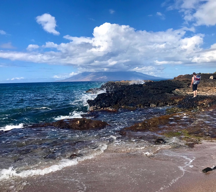 Black Sand Beach, Makena Landing, Maui