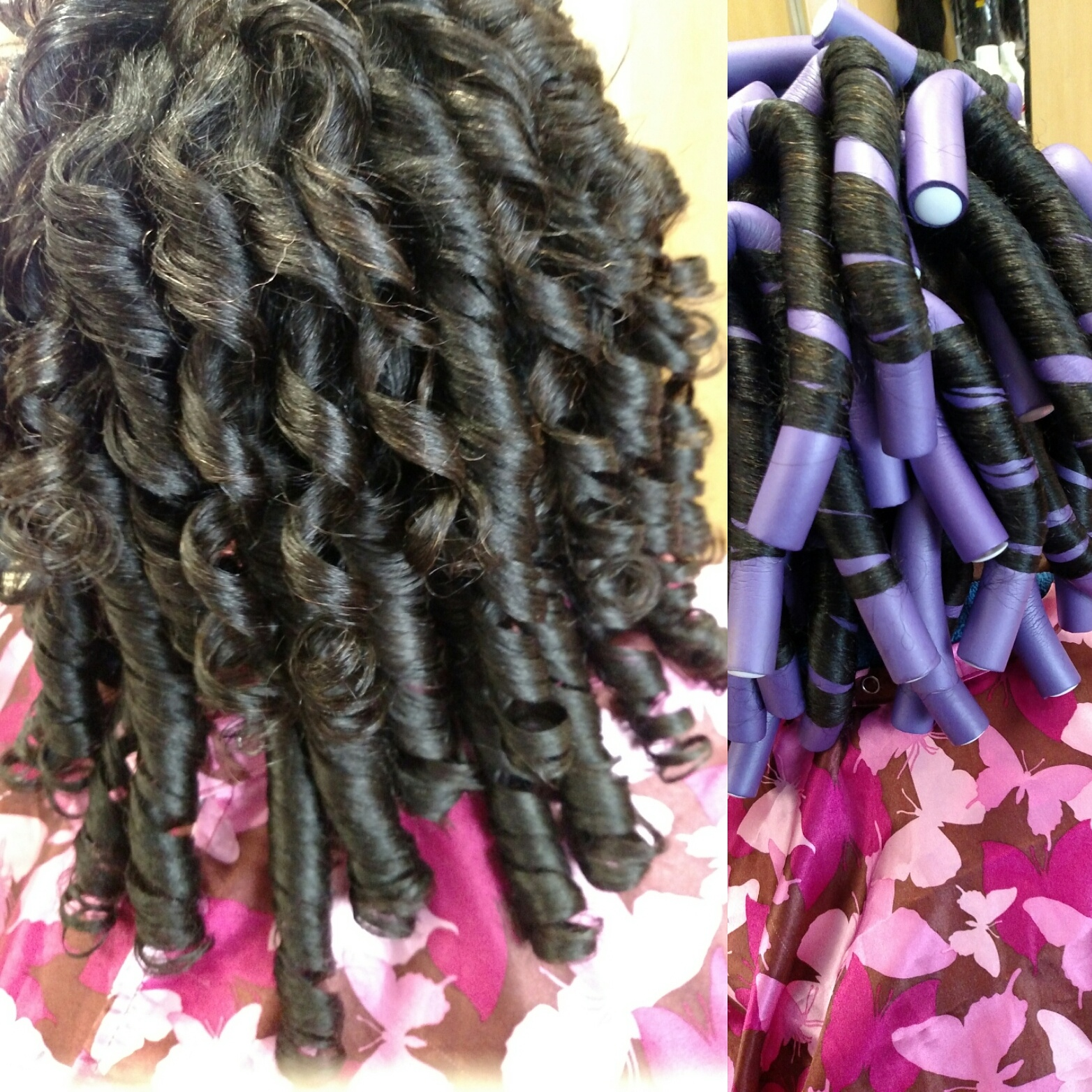 House Design Didi Games Perming Hair With Curlformers Phenomenalhaircare Don T Get