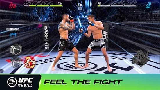 يجلب لك UFC Mobile 2 قتال MMA أصلي لم يسبق له مثيل. تغلب على المنافسة بمقاتلين جدد وإمكانيات متقدمة وفئات وزن محدثة - وكلها مرتبطة بـ UFC.