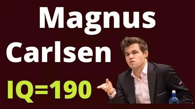 Magnus Carlsen IQ=190