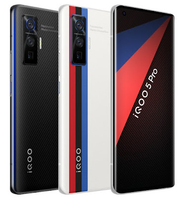 iQOO 5 & iQOO 5 Pro Launched With 6.56inch FullHD+ 120Hz AMOLED Display, Snapdragon 865, 120W Fast Charing & More