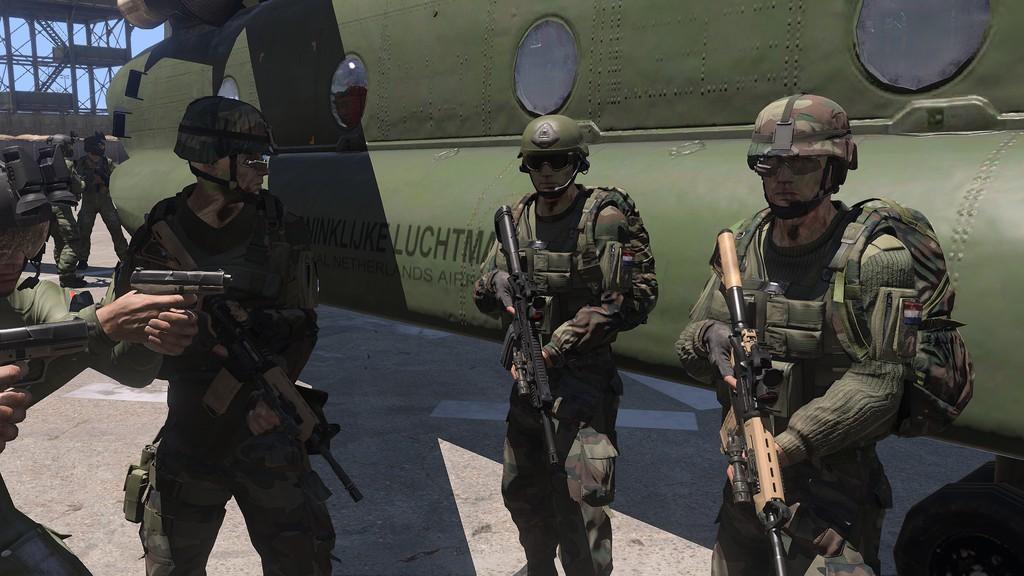 Arma 3 のオランダ軍特殊部隊が...