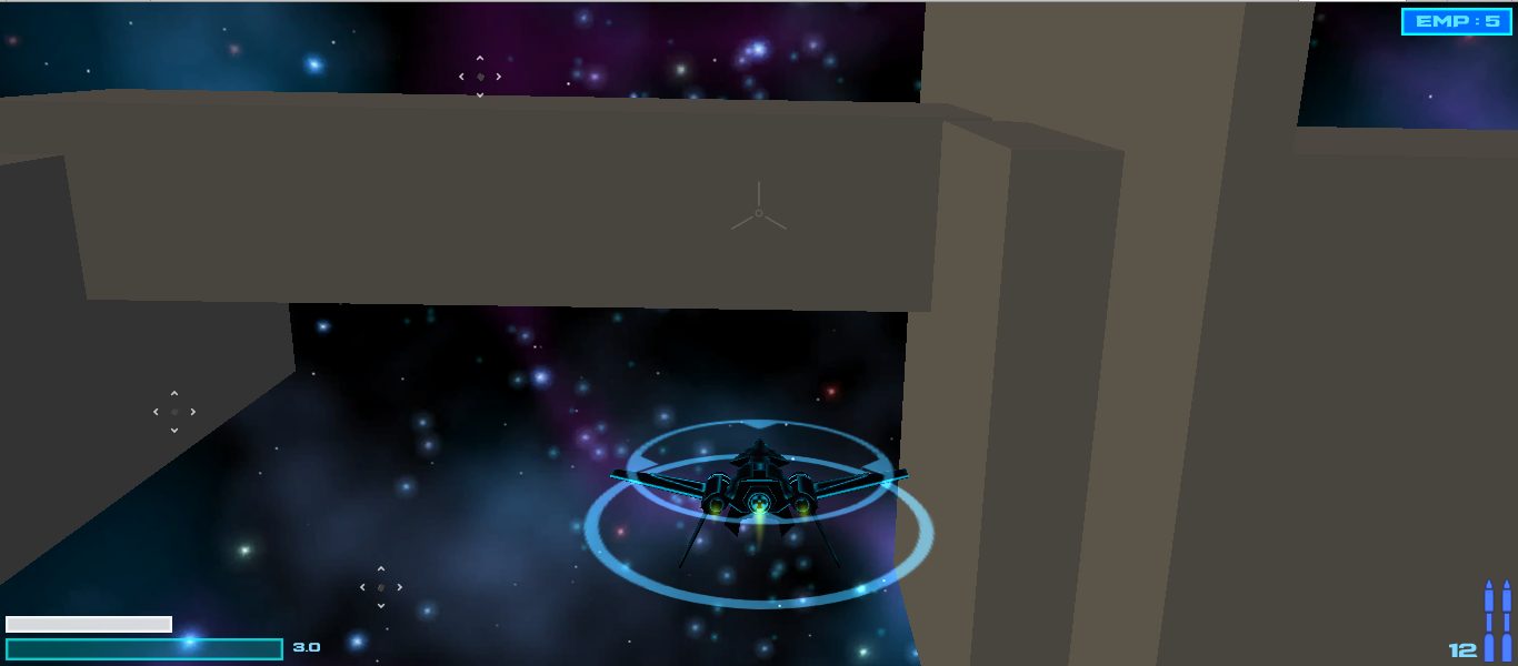 Unity Game - Space Fighter Game: Update: HUD and EMP