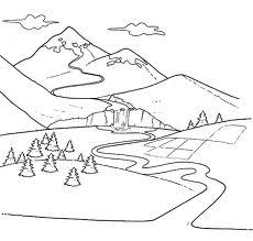 Scuola popolare di filosofia roma la storia di un fiume for Lago disegno