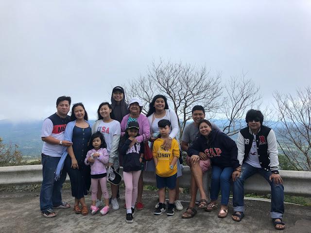 My Family at Mt. Samat Shrine