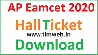 AP EAMCET 2020 Hall Ticket 2020