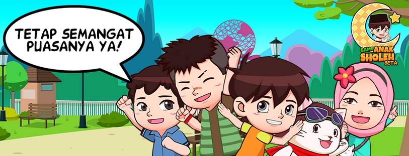 72 Gambar Animasi Anak Sholeh HD