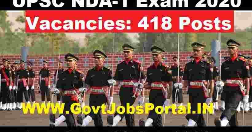 UPSC%2BNDA%2BExam%2BNotification%2B2020 Govt Job Form Delhi on