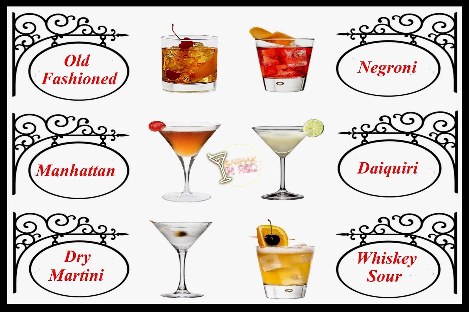 Los 50 c cteles cl sicos m s vendidos en 2016 for The best mixed drinks