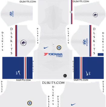 Download Kit DLS Chelsea Away 2019 - 2020
