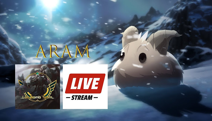 BoMb TeaM Live Stream ARAM - League of Legends | LoL